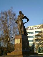 pomnik w Kalingradzie