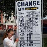 tabela i różne waluty