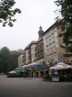 budynki w Polanic-Zdrój